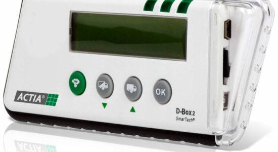 D-BOX 2 Считыватель данных карты водителя