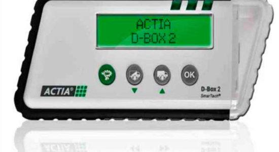 Actia D-Box2 портативное устройство для считывания данных из тахографов